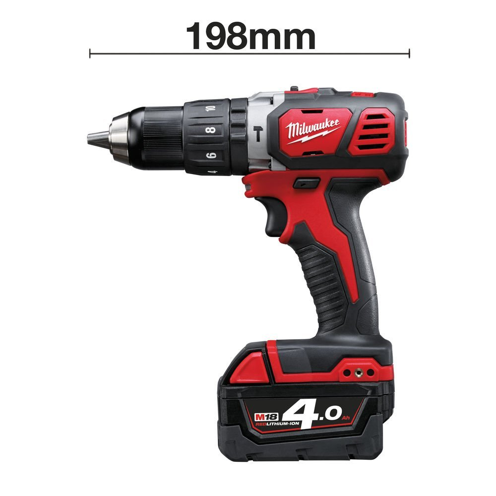 2 Batteries and Charger M18BPD-402C Compact Percussion Drill