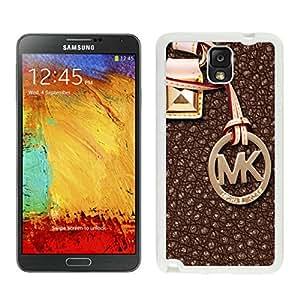 Popular Customize Samsung Galaxy Note 3 Phone Case With Michael Kors 129 White Samsung Galaxy Note 3 Phone Case