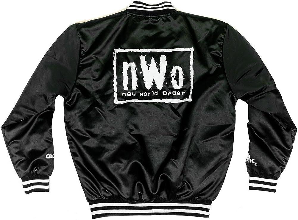 WWE Authentic Wear NWO Vintage Black//White Chalk Line Jacket 2XL