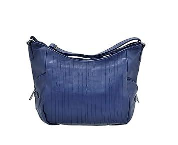 90e3aff05 Paula Rossi - Bolso estilo bolera para mujer, azul (Azul) -  5800-2-blue-wr18f4: Amazon.es: Equipaje