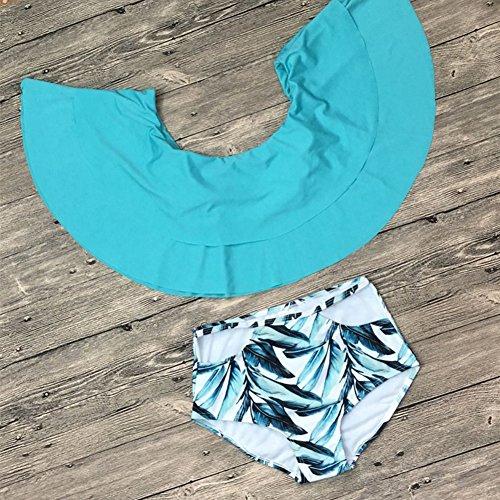 da bikini dimagrante piatto set spalla M TIANLU doppio Beachwear bagno costume blu costume bagno sexy cielo da 5wqt11xX