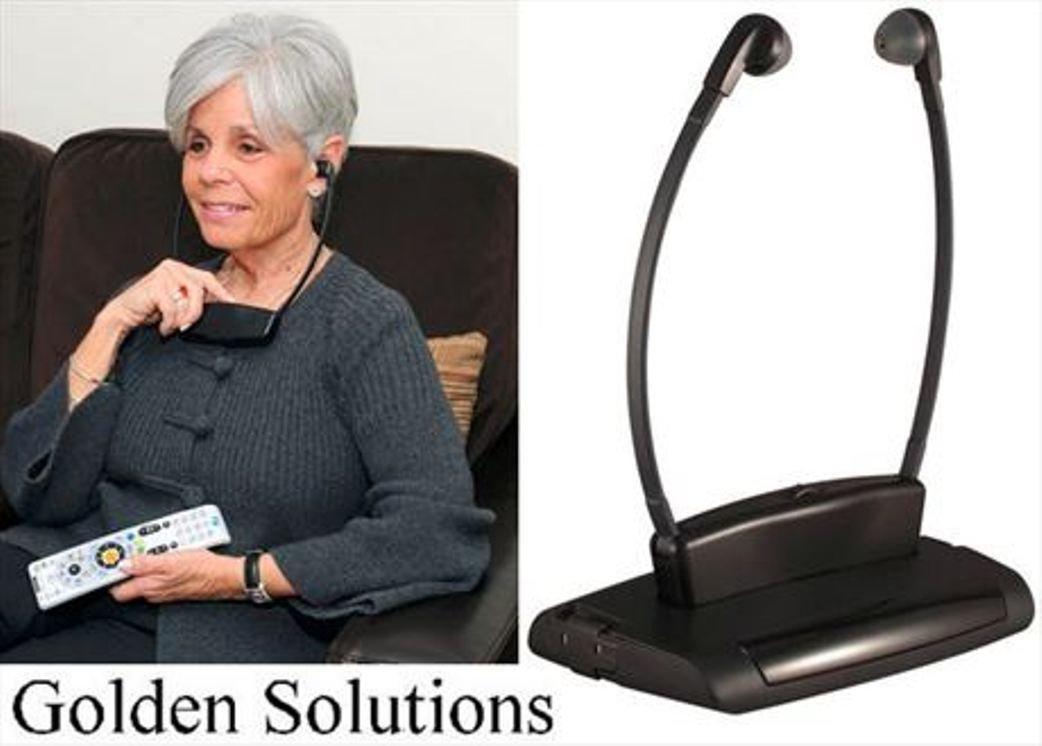 Brand GARDEN AND HOME Shop Golden Solutions IR TV Wireless Headphones Infrared ITGSH-150 Brand
