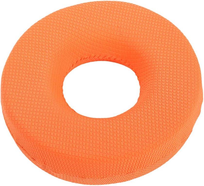 Exceart 30X11cm Donut Almohada Cojín Del Asiento Ortopédico Tailbone Almohada para Hemorroides Embarazo Post Natal Cirugía Coche Silla de Oficina (Color Aleatorio)