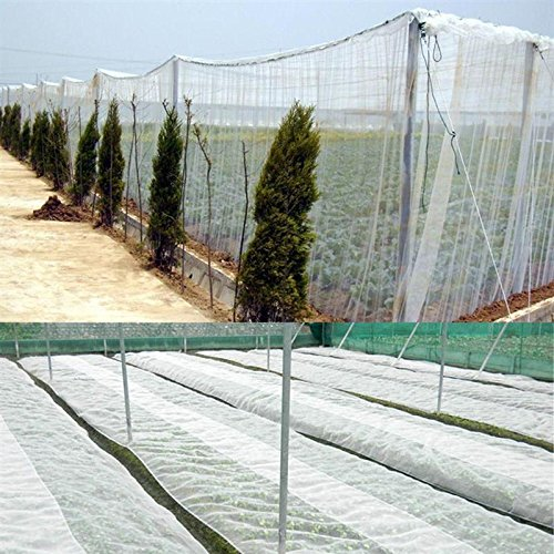 white-garden-mosquito-netting-bug-insect-bird-mesh-net-hunting-barrier-protect-planter-plantation-pe