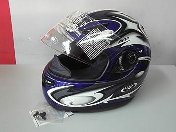 Vemar casco Integral Moto Mod.Pegasus VSS i.f. Color Azul TG.M
