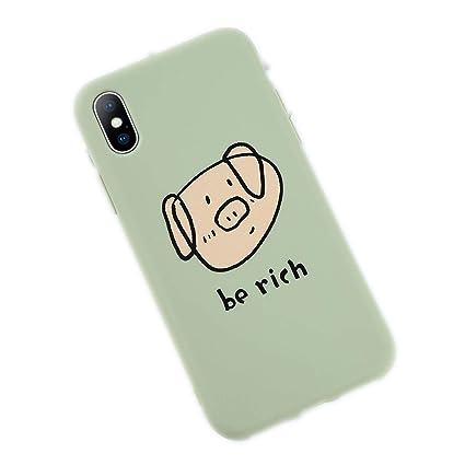 coque iphone 8 plus cochon