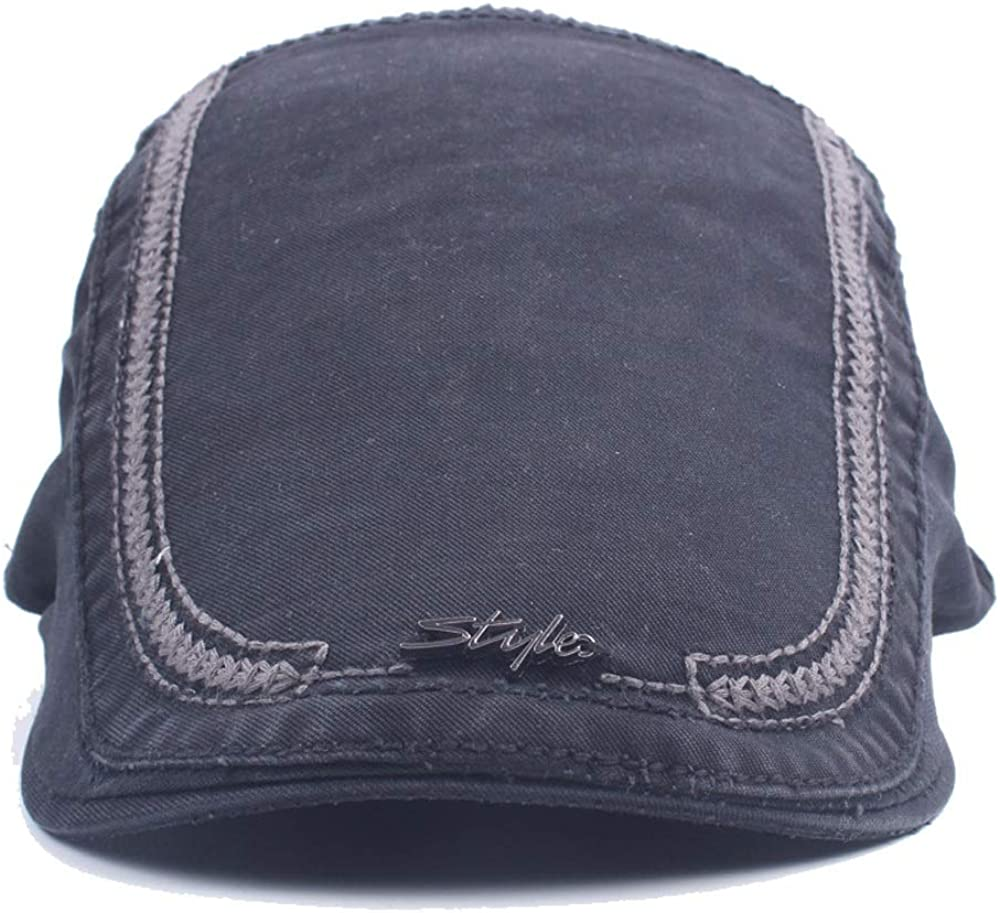 LL Beret Hats for Women Autumn Winter Cotton Iron Standard Style Embroidery Forward Cap
