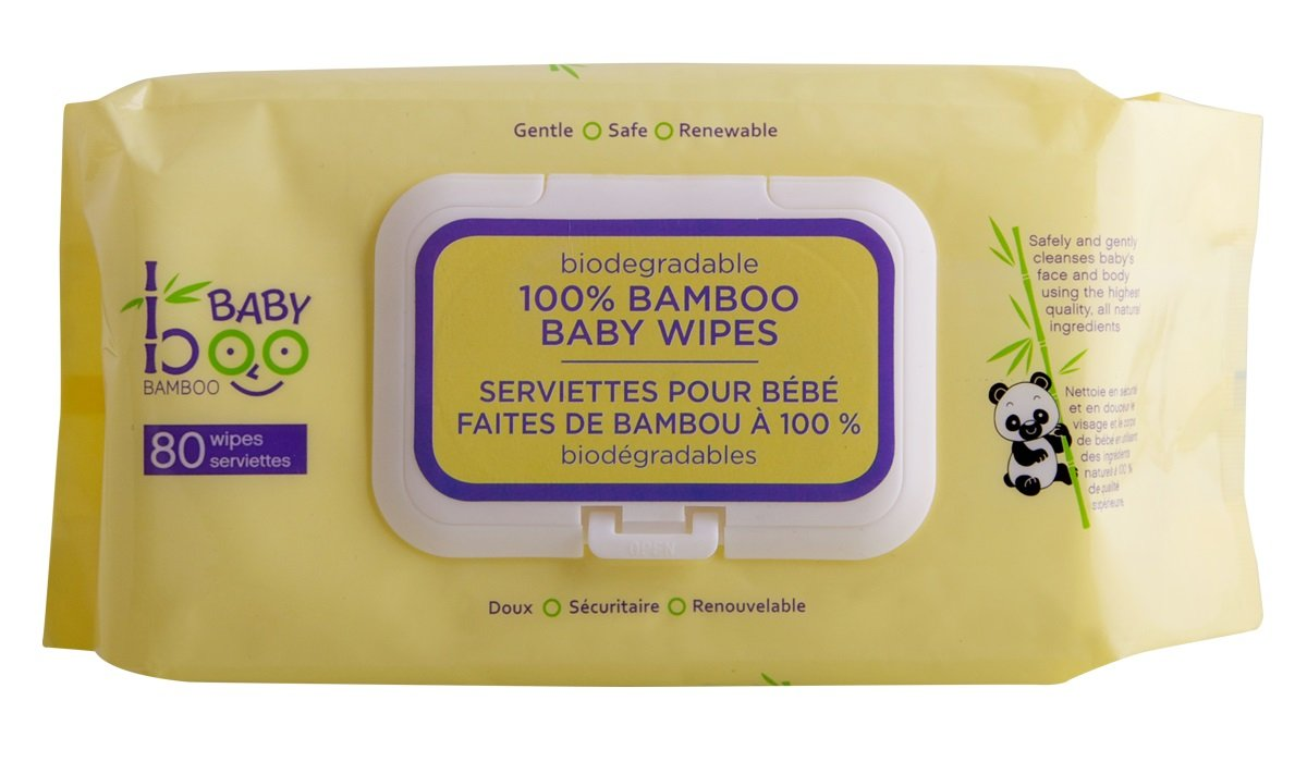 Baby Boo Bamboo Wipes, 80 Count 776629100239