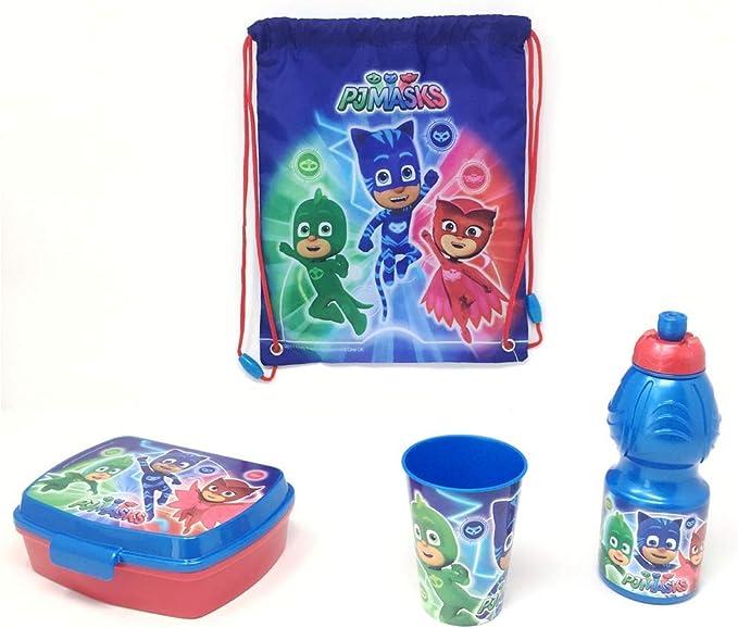 Multicolore 17 x 13.5 x 6 cm 701974 Joy Toy- Pj Masks Superpigiamini Portamerenda