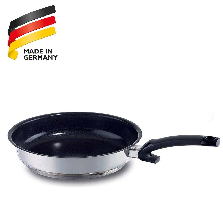Fissler Maxeo Comfort 13810328100 - Sartén (acero inoxidable, cerámica y plástico, 28 cm)
