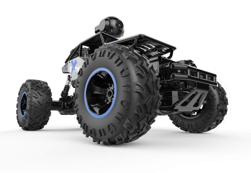 1/16 RC Rock Crawler with WiFi Camera 2.4Ghz 4WD Off Road RC Racing Car High Speed Remote Control Rock Crawlers for Adults Buggy Toy Cars by DaoAG (Image #3)