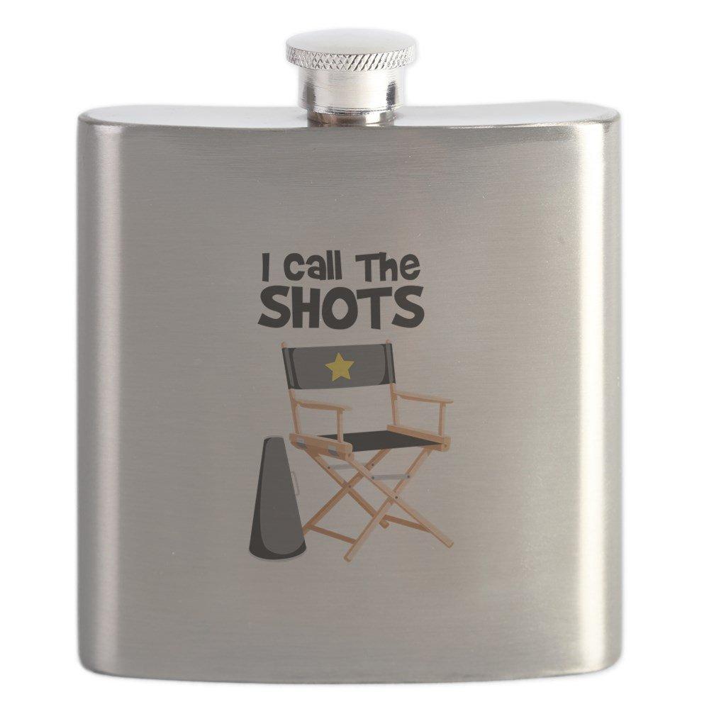 2019公式店舗 CafePress – I Call B01IUFTDI6 The Shots I – ステンレススチールフラスコ、6オンス酒フラスコ Call B01IUFTDI6, 船橋市:21eb0918 --- a0267596.xsph.ru
