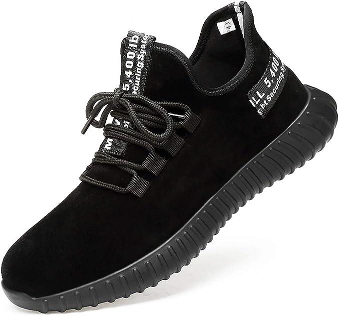 Dxyap Zapatos de Seguridad para Hombre con Puntera Acero ...