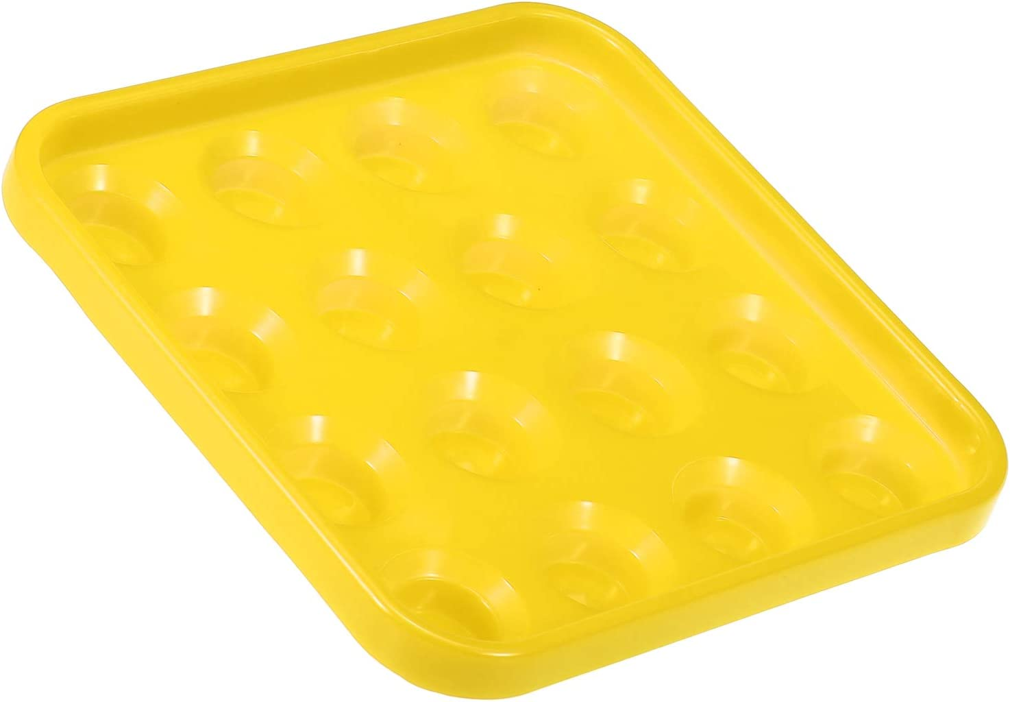 Standard Cue Ball Tray Ultralight Plastic Billiard Ball Storage Case for 16//22 Balls Explopur Cue Ball Tray