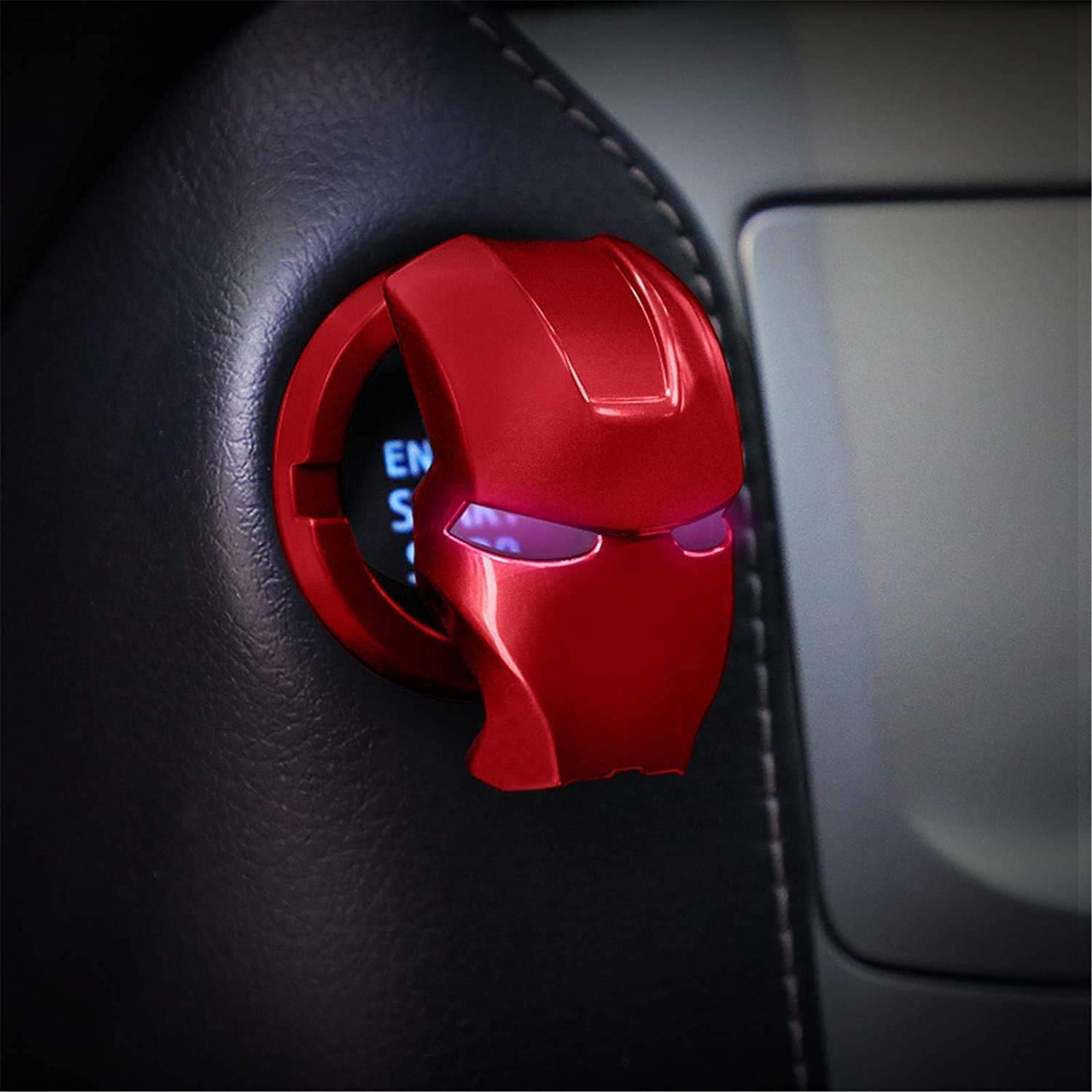 Iron Man Car Start price Gifts Button Ignition Cover Engine Stop Auto
