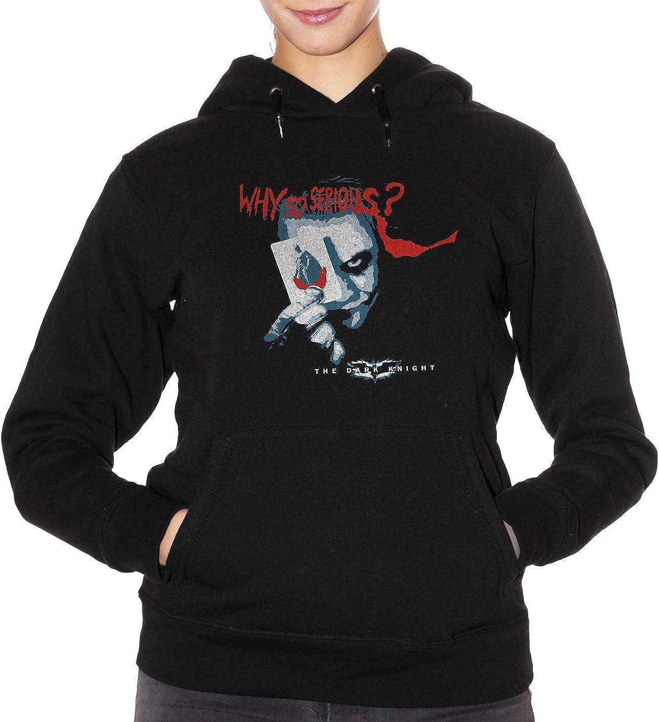 Felpa Joker Why so Serious? Heath Ledger Choose Ur Color