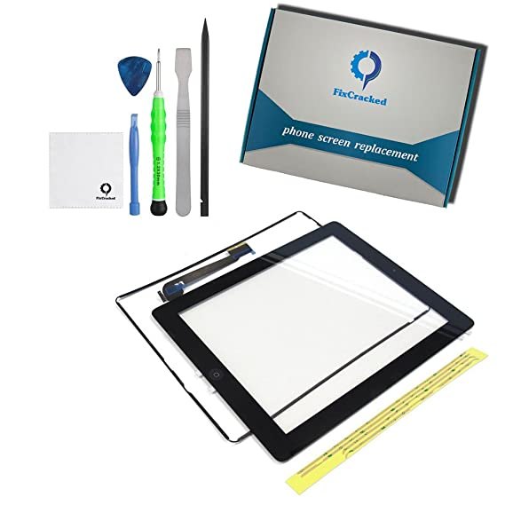 Amazon.com: FixCracked Screen Replacement for iPad 3,Digitizer Touch ...