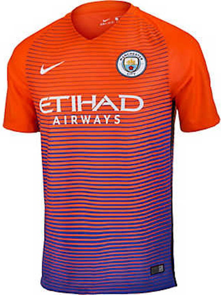 2016-2017 Man City Third Nike Football Shirt B012J1N8TW