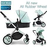 Hot Mom Multi cochecito cochecito 2 en 1 con buggy 2018 nuevo diseño, Asiento para bebé…