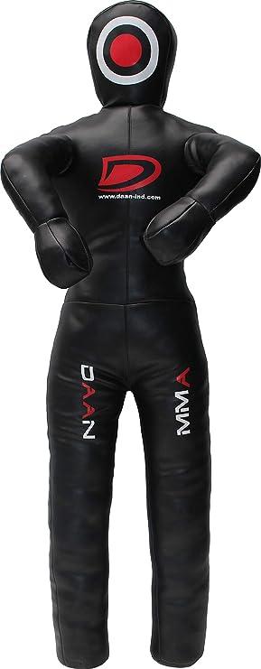 Grappling BJJ Hanging Dummy Punch Bags MMA Kick Boxing Training 6 Feet Free Hook