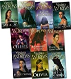 virginia andrews collection 10 books set pack gates of paradise hidden jewel pearl in the mist unfinished symphony all that glitters olivia melody music in the night heart song web of dreams