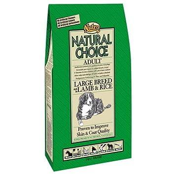 The Nutro Company Nutro - Pienso para Perros Raza Grande Choice Adult Large Cordero y arroz 12 + 3 kg: Amazon.es: Productos para mascotas