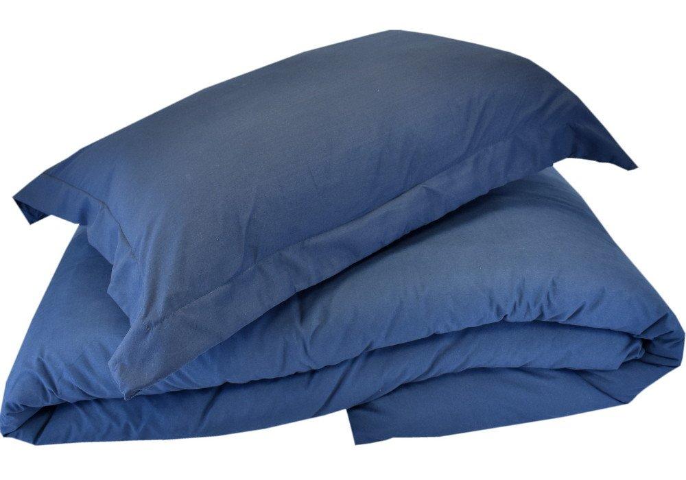 Mezzati 高級布団カバー3枚セット \u2010 柔らかい保温カバー、最高品質毛羽仕上げのマイクロファイバー \u2010 しわ耐性 \u2010 低刺激性 \u2010 プレステージ1800コレクション寝具 Twin / Twin XL ブルー 751137258856 B071R312MG Twin / Twin XL|ブルー ブルー Twin / Twin XL
