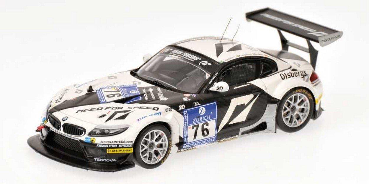 Reducción de precio MINICHAMPS PM437102076 BMW Z4 GT3 N.76 NURBURGRING 2010 1:43 MODELLINO DIE CAST
