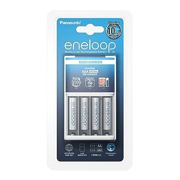 Panasonic Eneloop SY3056690 - Cargador BQ-CC51 (Incluye 4 x AAA)