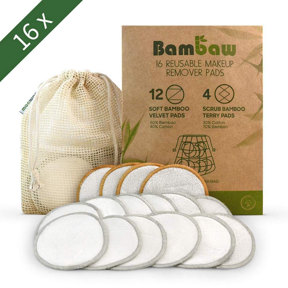 Discos Desmaquillantes Reutilizables Lavables Algodon Bambu ...