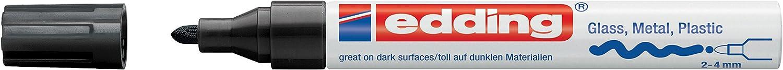 edding creative 751 Gloss Paint Marker - 2-4 mm Nib - Black