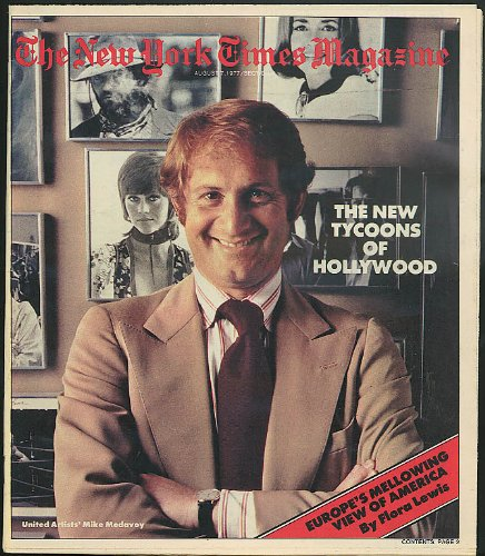 NEW YORK TIMES MAGAZINE Space Shuttle New Tycoons of Hollywood 8/7 1977 (New York Spaces Magazine)