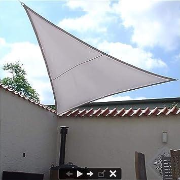 Dekowelten Luxus Terrassen Sonnensegel Dreieck Der Extraklasse 3 00m