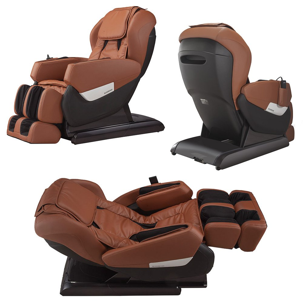 Amazon.com: RELAXONCHAIR MK-IV Full Body Zero Gravity Shiatsu Massage Chair  with Built in Heating and Air Massage System (Brown): Health & Personal Care