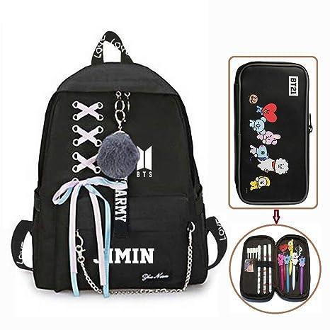 KroY PecoeD Mochila Kpop BTS, mochila escolar, bolso ...