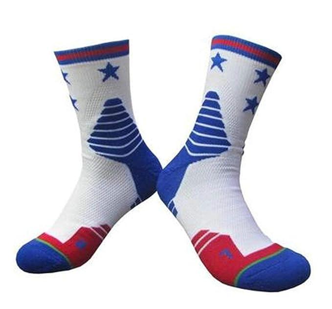 Beydodo 3 Par Calcetines Hombre Calcetines Running Hombres Calcetines de Baloncesto Calcetines Deporte Calcetines Colorido-