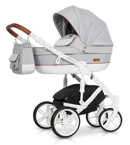 Carro 3 piezas Naturo grey fox: Amazon.es: Bebé