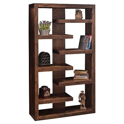 Amazon Com Legends Furniture Sl6972 Wky Sausalito Bookcase 72