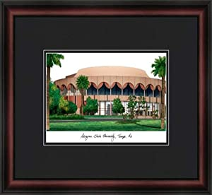 Campus Images NCAA Arizona State Sun Devils Academic Framed Lithograph