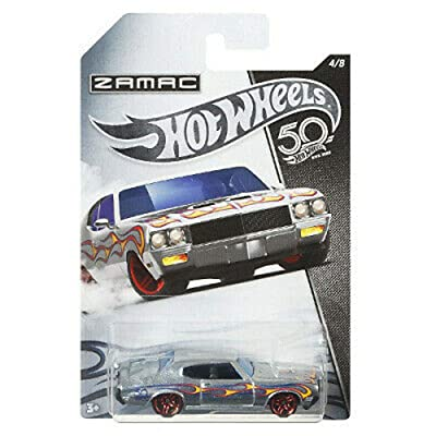 HOT WHEELS ZAMAC '70 BUICK GSX 4/8 50TH ANNIVERSARY: Toys & Games