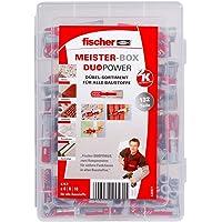 fischer 535971 MeisterBox DuoPower pluggen, universele pluggen, 132-delig