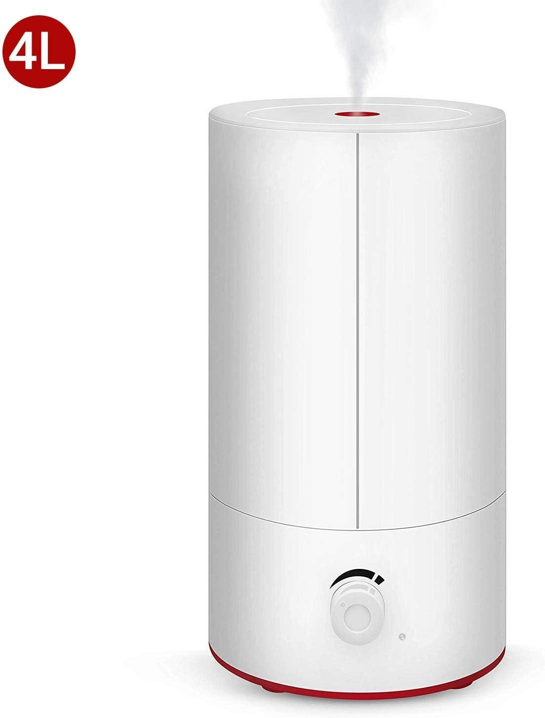 Movaty 4L Humidificador Purificador Difusor de Aroma,Ambientador,3 Niveles de Humedad Ajustable,Difusor Bebé Seguridad Ultrasónico,Gran Capacidad,Silencioso,Boquilla 360° Grados: Amazon.es: Hogar