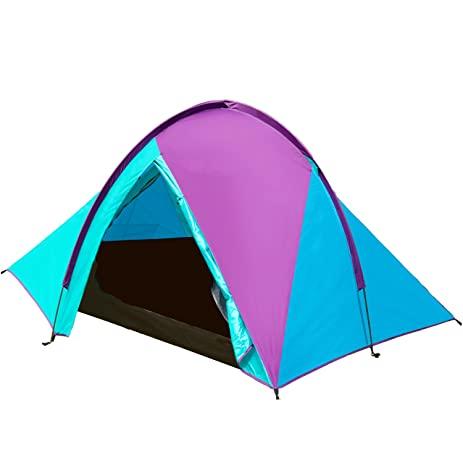 MAKINO 1 Person Mini Tents Outdoor Single Person Backpacking Tents C&ing in Waterproof Polyester Fabric with  sc 1 st  Amazon.com & Amazon.com : MAKINO 1 Person Mini Tents Outdoor Single Person ...