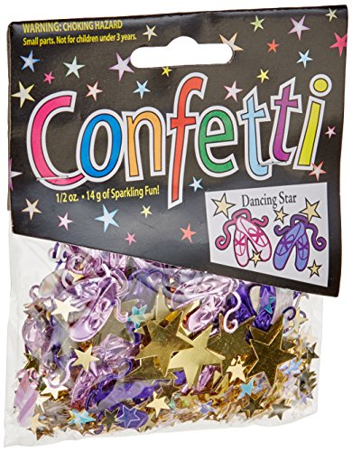 Dancing Stars Halloween Costumes - Beistle CN090 Dancing Star Confetti,