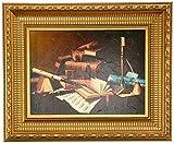 Design Toscano Music and Literature, 1878 Canvas Replica Painting: Medium