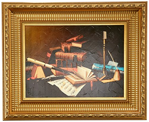 Design Toscano Music and Literature, 1878 Canvas Replica Painting: Medium by Design Toscano