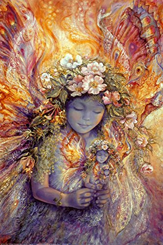 The Fairy's Fairy Poster by Josephine Wall 24 x 36in