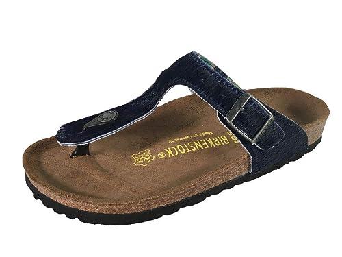 BIRKENSTOCK Damen Pantoletten Arizona Soft BF 1011136 blau