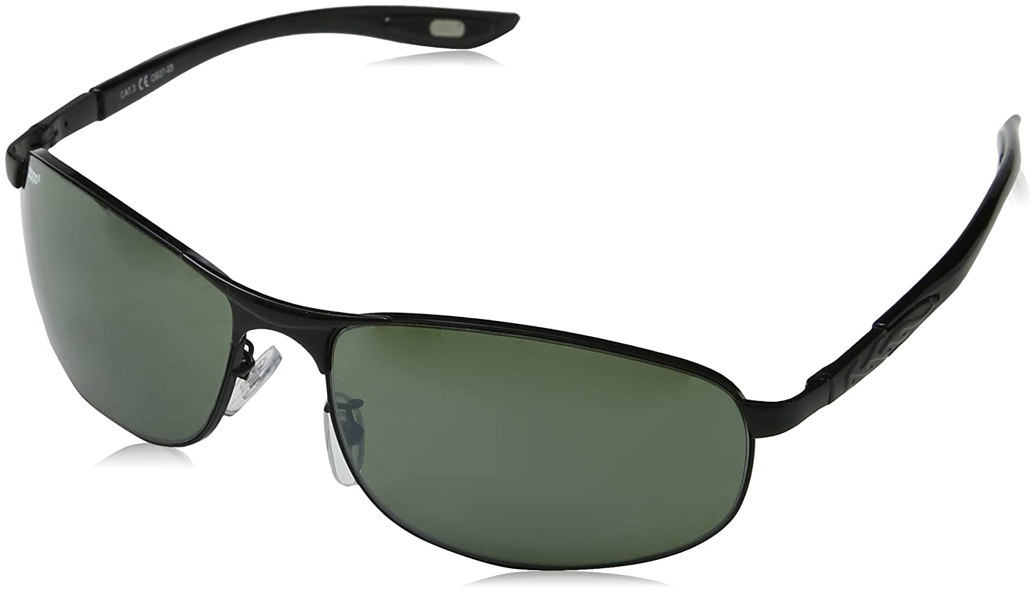 5555bd9c22cde Zippo Unisex s Frame and Temples Sunglasses