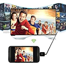 I-Sonite Mini Portable Micro USB DVB-T Digital Mobile TV Tuner Receiver For HTC Desire 12 Plus